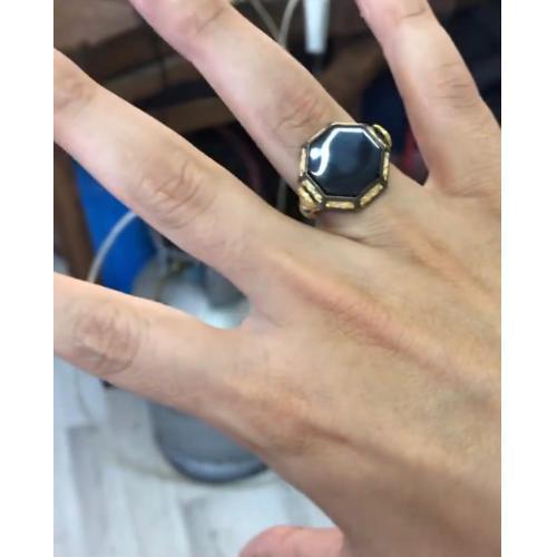 8 köşe Selçuklu yüzüğü